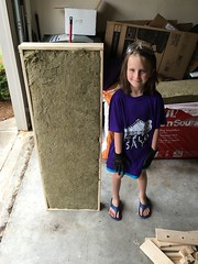 Panel - Frame and my helper