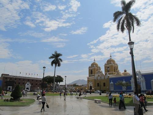 Trujillo: la Plaza de Armas