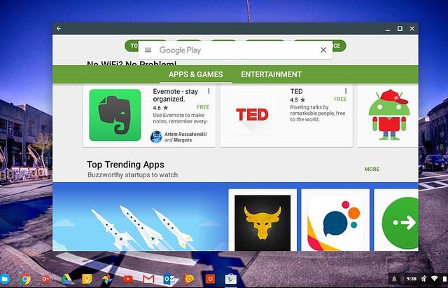 Play Store ChromeOS