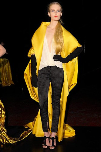Blanket Coat Fashion Trend for Fall Winter 2013 | Wes Gordon Fall Winter 2013 #NYFW #Fashion #Trends #Trendy