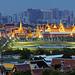 RIP HM King Bhumibol (Rama IX) / Temple of Emerald Buddha / Bangkok, Thailand by I Prahin | www.southeastasia-images.com