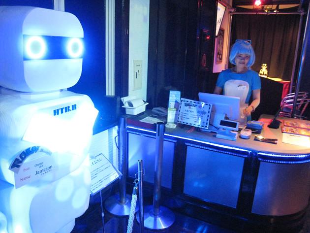 レポ 2016年7月16日オープン ROBOT変なレストラン(ロボットレストラン)に行ってきました!