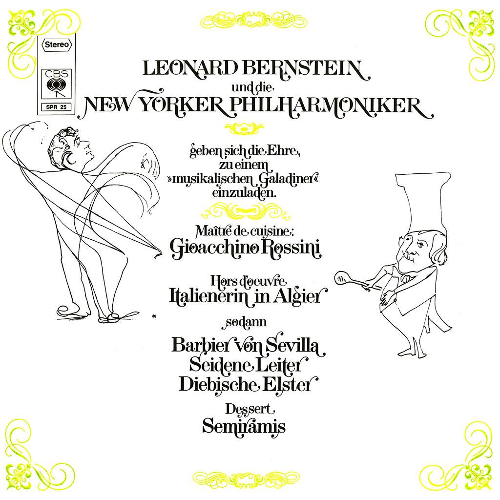 Leonard Bernstein - Bernstein Rossini Festival