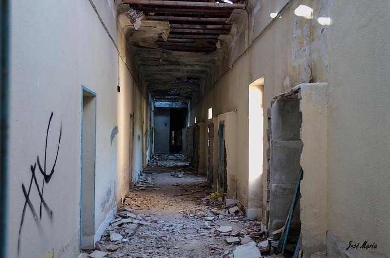Sanatorio antituberculoso abandonado de Sierra Espuña
