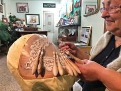 I gioielli di Rosina una merlettaia di 80 anni e una vita dedicata al tombolo a tombolo #offida #ilikemarche