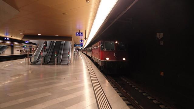 IR im S-Bahn-Tunnel