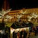 Sternschnuppenmarkt auf dem Schloßplatz in Wiesbaden