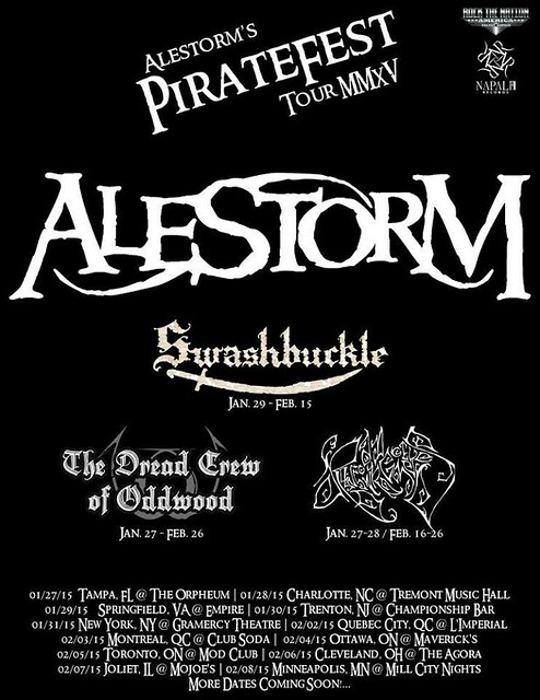 Alestorm at Empire