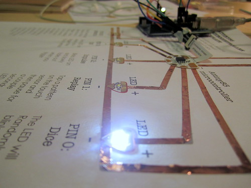 circuit sticker microcontroller tutorial
