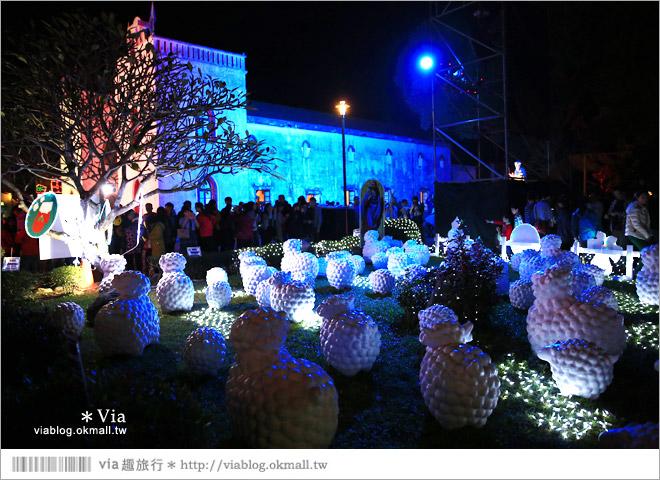 【萬金教堂】屏東萬金教堂聖誕季~3D光雕秀+耶誕地景藝術/全台最濃耶味小鎮!37