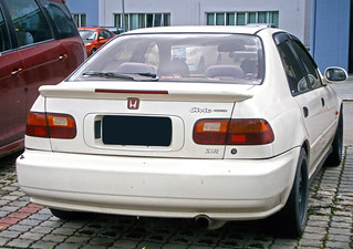 1992 Honda Civic Ferio SiR sedan (modified)