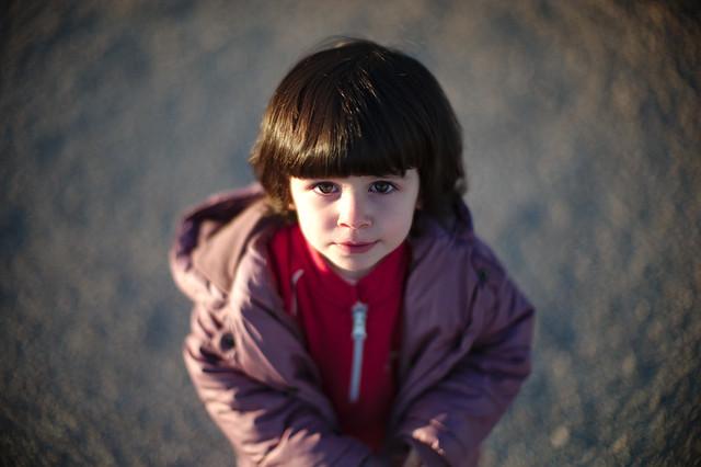 Violeta al salir de la guarder a m9 noctilux f 1 for Villa bonita violeta