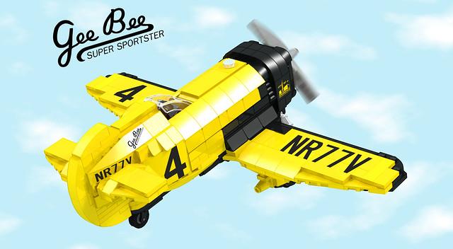 Main - LEGO Ideas Gee Bee Z