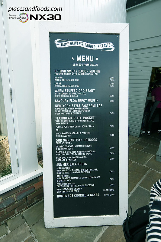 jamie oliver fabulous feasts bicester village menu