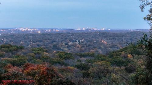 sunset usa fall skyline landscape geotagged photography unitedstates nashville hiking tennessee bluehour percywarnerpark nashvilleskyline warnerparks nashvillehikingmeetup lukeleaheights vaughnsgap canon7dmkii sigma18250mmf3563dcmacrooshsm lukeleaheightsscenicoverlook geo:lat=3607770500 geo:lon=8687634500