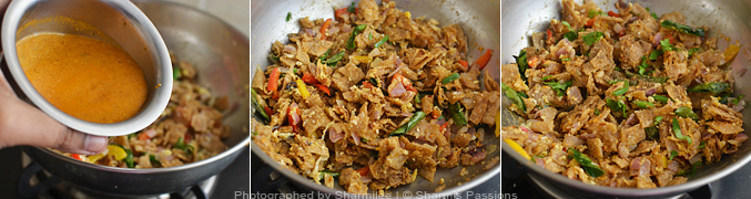 How to make Egg Kothu Chapathi Recipe - Step6