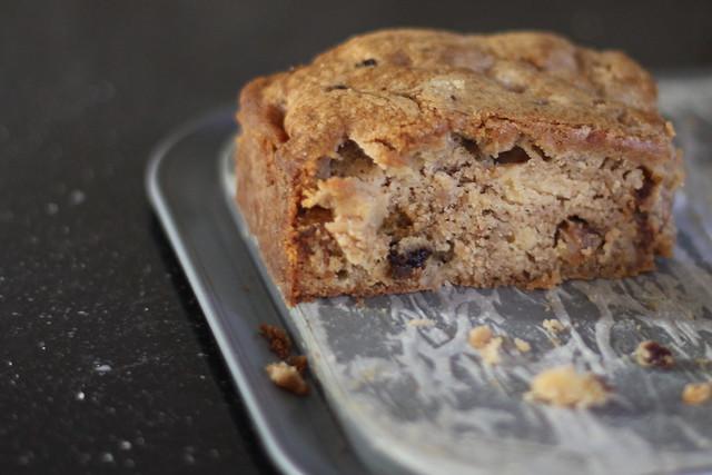 apple raisin brown butter cake