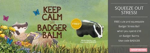 FREE Badger Balm