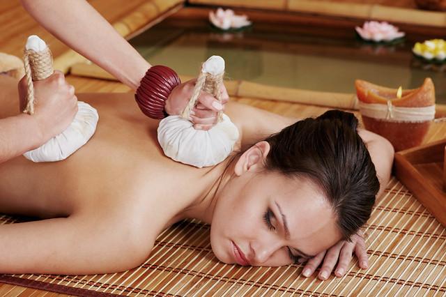 Herbal Ball Massage from thaimassagetwickenham.co.uk