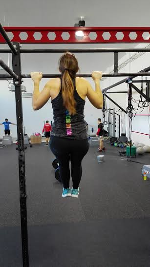 All the CrossFit ladies cristina crossfit zgz pull up dominada