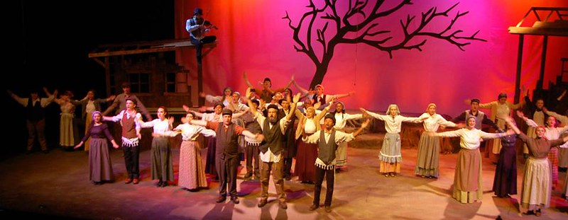 THE SHOW GOES ON:  Hickman students power through frightening stage mishap to shine in Fiddler on the Roof