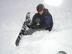 auto racing(0.0), vehicle(0.0), snow angel(0.0), sledding(0.0), winter storm(0.0), freezing(0.0), snowshoe(1.0), winter sport(1.0), footwear(1.0), sports(1.0), snow(1.0), blizzard(1.0),