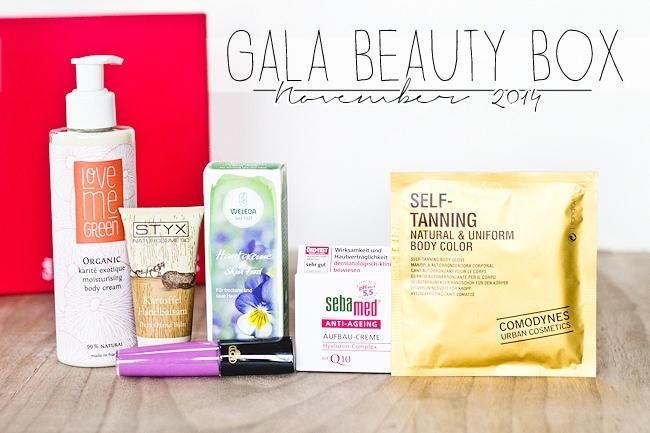 Gala Beauty Box November 2014