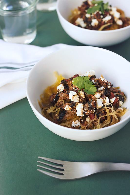 Mexican Spaghetti Squash Bake - Tasty Yummies