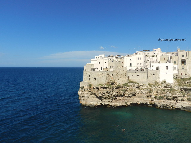 polignano a mare by giuseppe carrieri