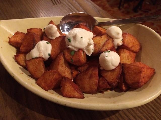 Patatas bravas - Beso