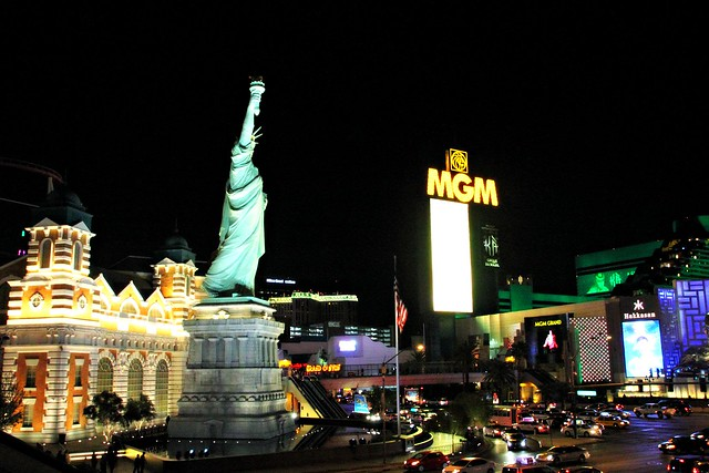 Statue of Liberty at Las Vegas, MGM Grand
