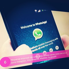 Pequenas empresas vão comer pelas beiradas, usando mídias alternativas, como Instagram, Vine, Snapchat, WhatsApp e etc. Você concorda? *************** Nosso encontro para discutir as tendências de marketing para 2015 é  amanhã! Já se inscreveu no WEBINAR