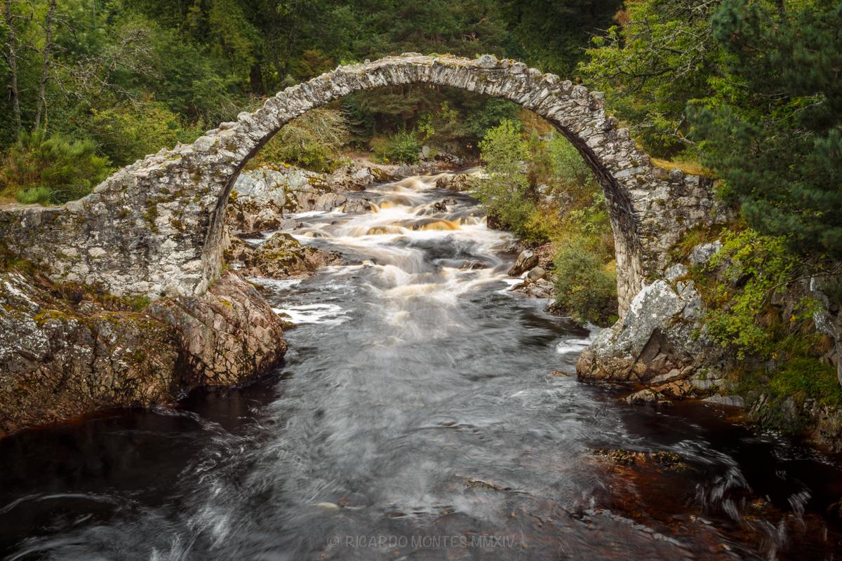 El agua de las Highlands