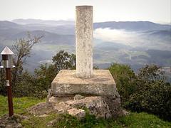 Vértice en la cima de Ereñozar