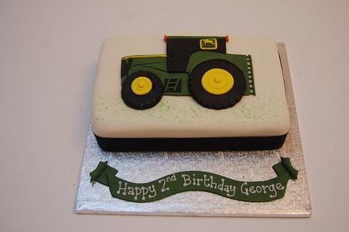 Fine 2D Tractor Cake Beautiful Birthday Cakes Funny Birthday Cards Online Unhofree Goldxyz