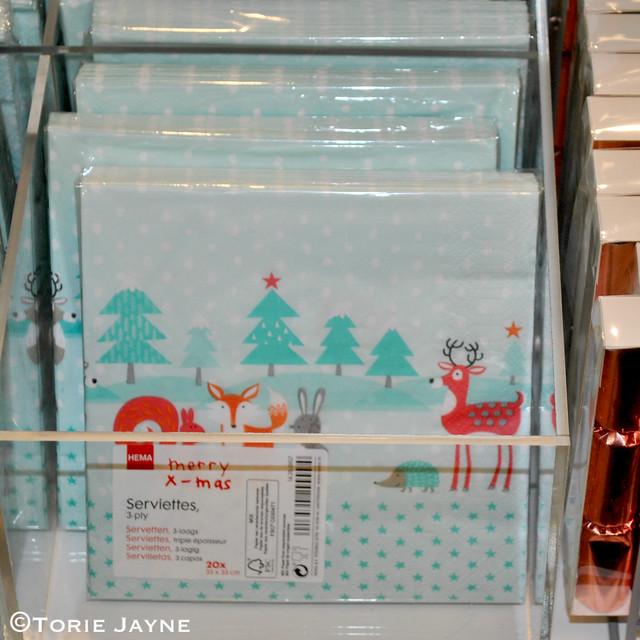 Hema woodland napkins