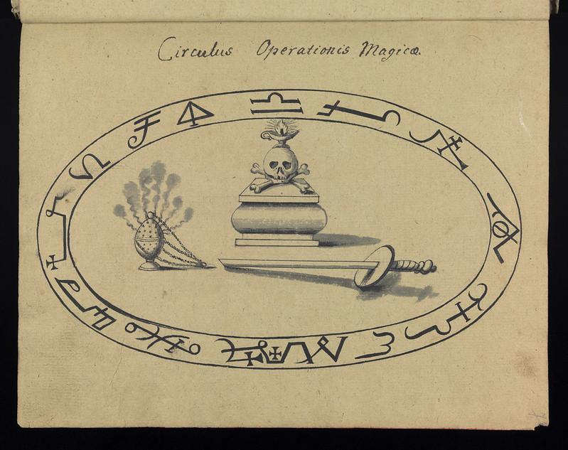 Compendium rarissimum totius Artis Magicae sistematisatae per celeberrimos Artis hujus Magistros - Folio 7 recto, 1766-1775