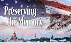 The ceremony will take place on the main lawn of the Pearl Harbor Visitor Center, looking directly out to the USS Arizona Memorial, at the World War II Valor in the Pacific National Monument.