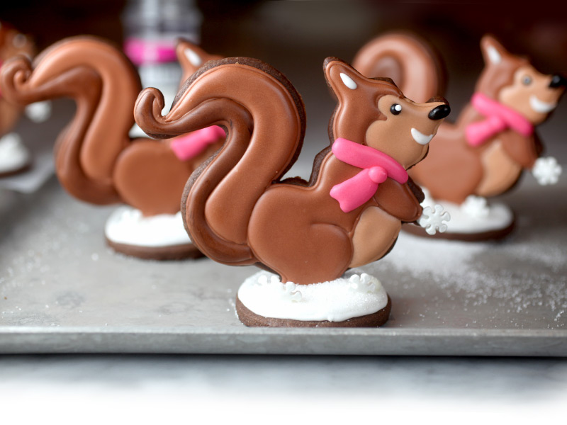 Sugar Cookie Squirrels