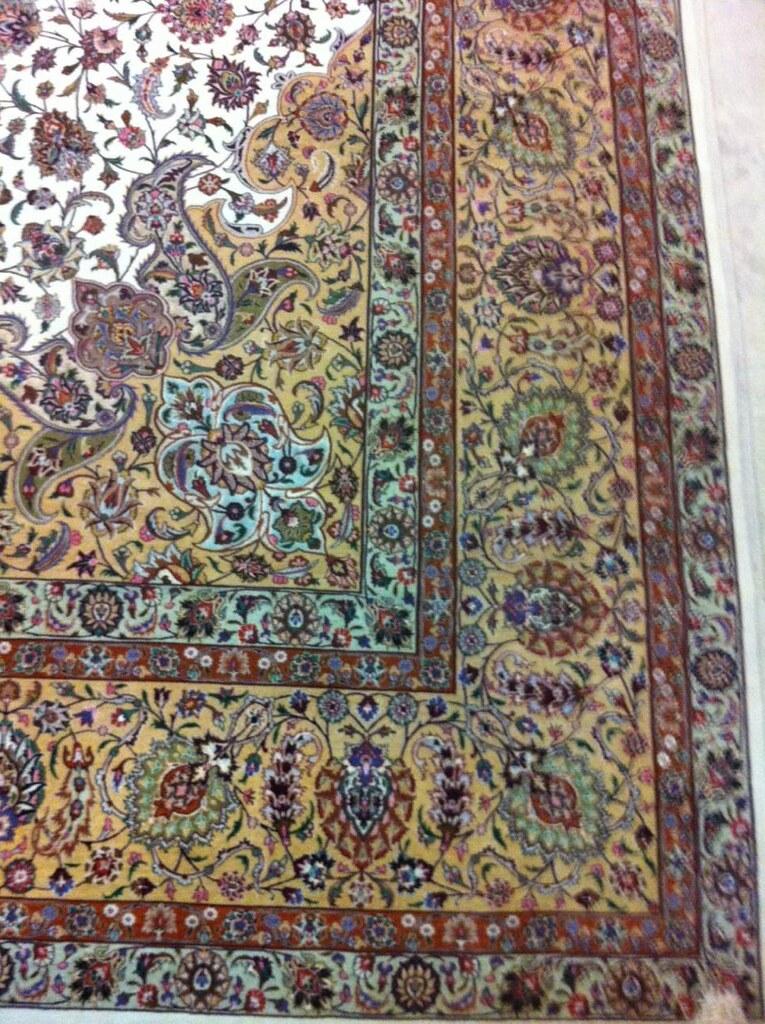 Soleimani 90 Raj Silk Persian Rug Item Ah 1