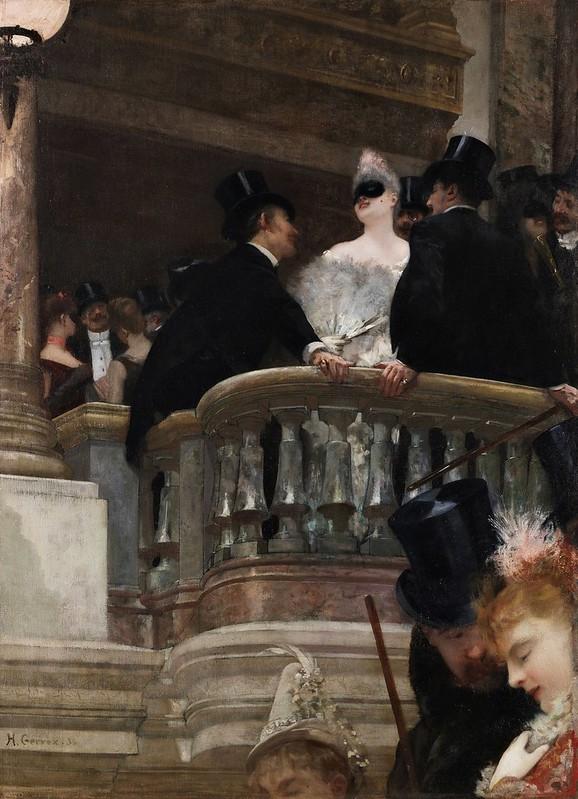 Henri Gervex - Le Bal de l'Opéra, Paris (1886)