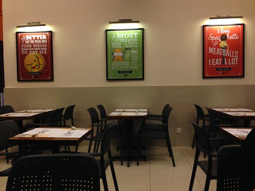 Lunch at Pizza Plus, Bandar Sri Permaisuri