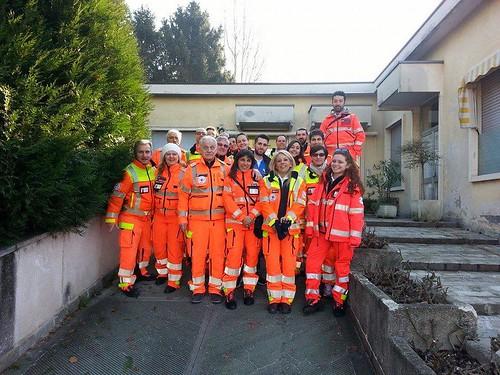 I volontari della Croce Rosa Celeste hanno portato la befana ai bimbi del Brefotrofio di Milano #arancionatale