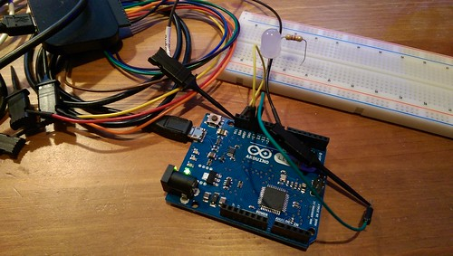 Saleae Logic connected to Arduino Leonardo