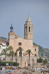Sitges. Parish church. Consecrated 1672.
