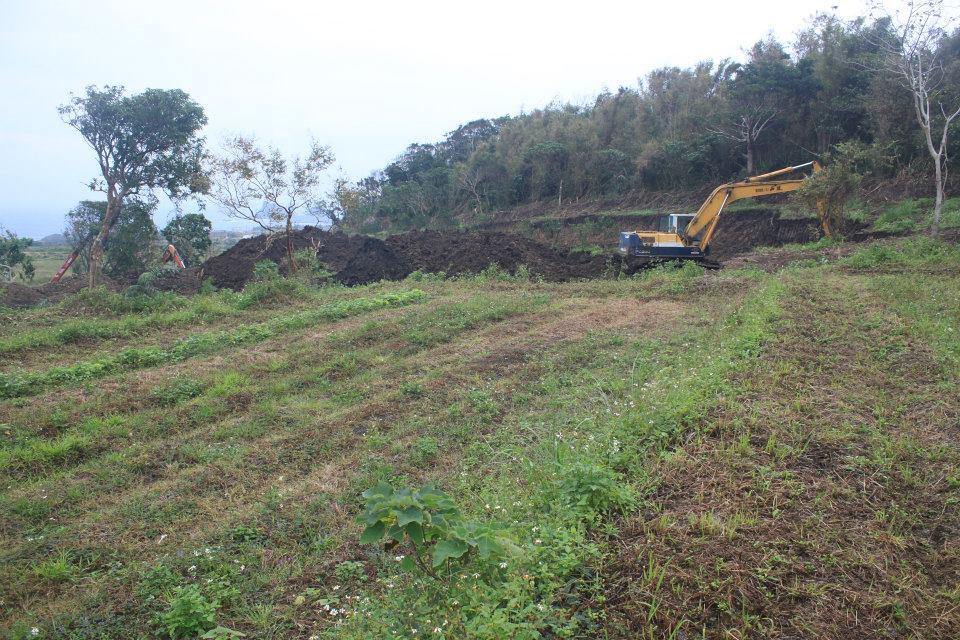 2014年12月開挖狀況