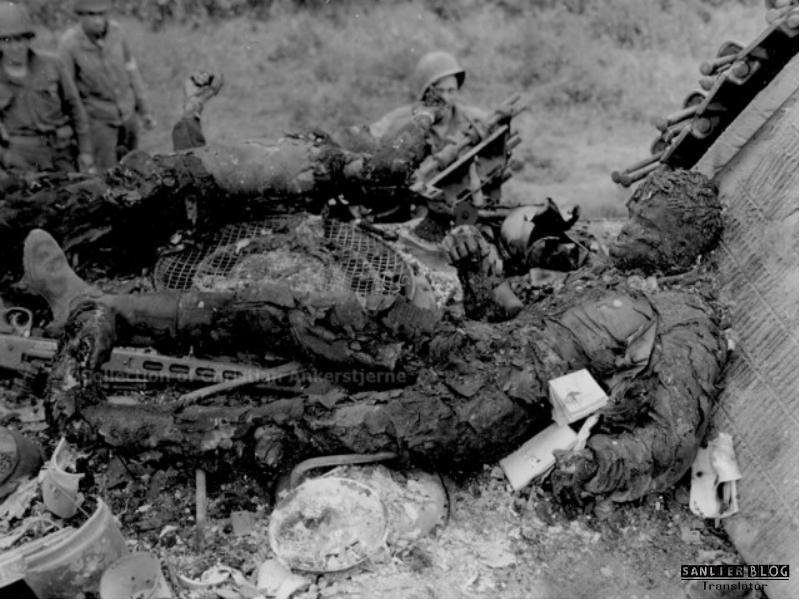 坦克战:活活烧死16