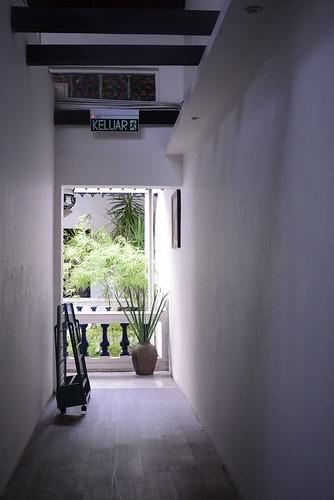 コートヤードヒーレンの廊下