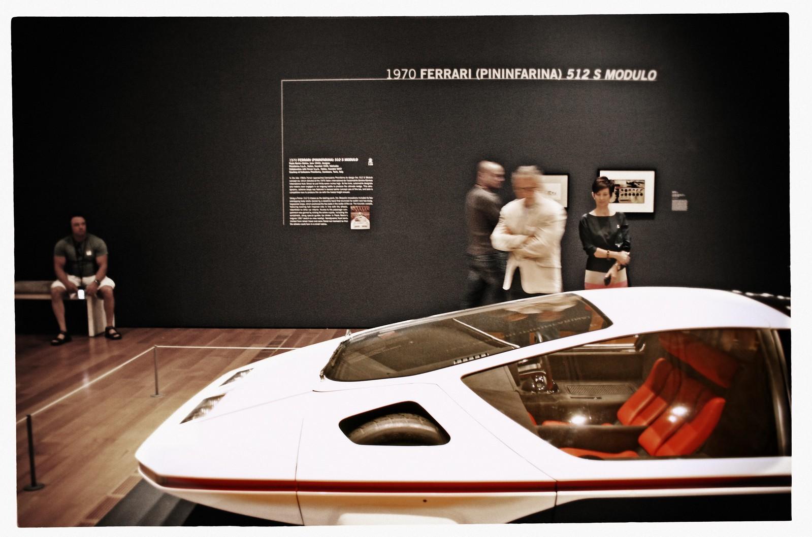1970 Ferrari 512 S Modulo, Dream Cars Exhibit, High Museum of Art, Summer 2014