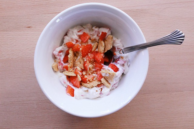 greek yogurt 52 ways: no. 1 strawberry shortcake